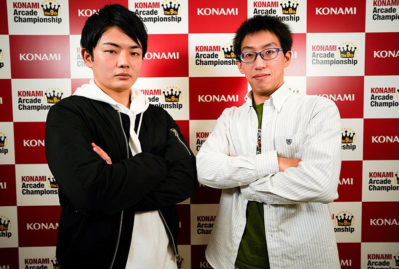 (左)シバイヌ選手(右)定山 賢選手