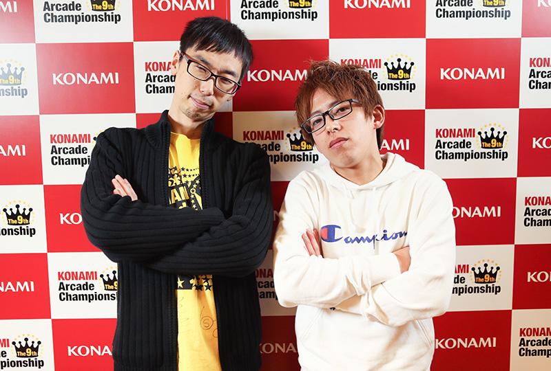 (左)じじい.K選手(右)雲風亭まっちゃん皆伝選手