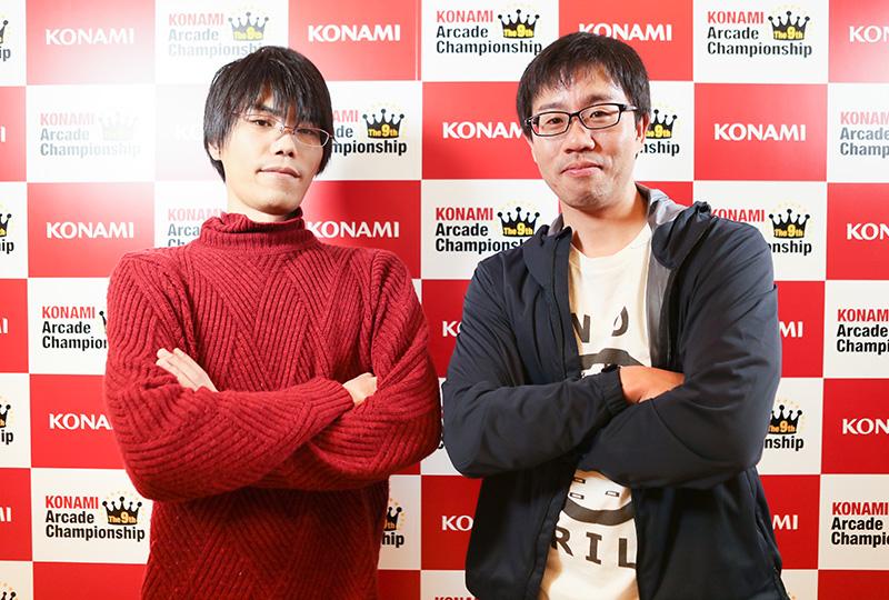 (左)TIMEPON選手(右)yukitani選手