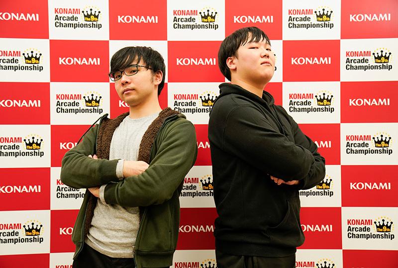 (左)K.FLAT選手(右)TSUBAKI.選手