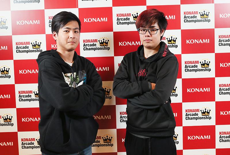 (左)とりで選手(右)*GS.1-P*選手
