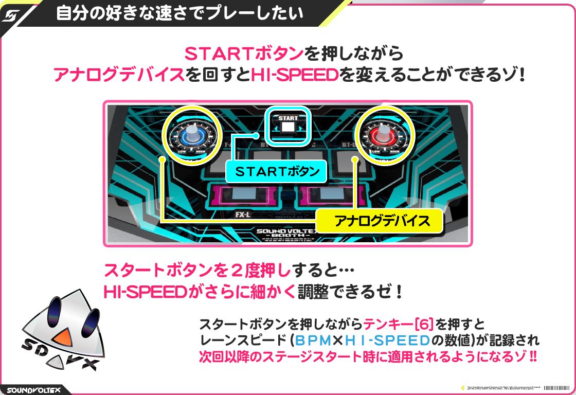 自分の好きな速さでプレーしたい